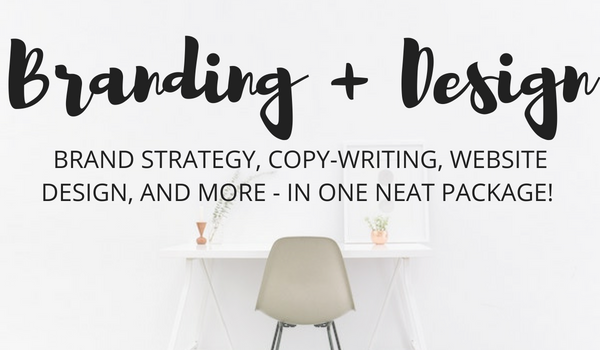 Brand Strategy, Copy-writing, & Web Design