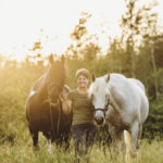 Brittany Cameron, owner of Eastern Equine Dynamics